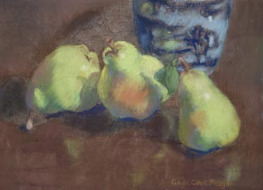 """Pear Trio"" by Gayle Clark Fedigan"