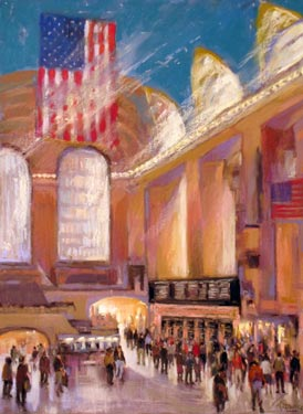 """Grand Central"" by Frank Federico"