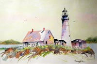 """Portland Lighthouse"""