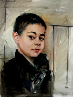 Kent Art Association Award for Oil – Mary Smoot-Sauter – Boy with Earring